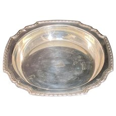Tiffany Sterling Silver Bowl Pair Floral