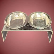 Tiffany Sterling Silver Hampton Open Vegetable Dishes Pair