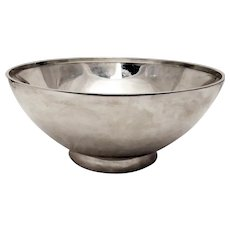 Tiffany & Co. Sterling Large Serving Bowl