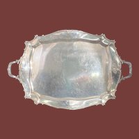 Gorham Sterling Silver Two-Handle Bar / Side table Tray