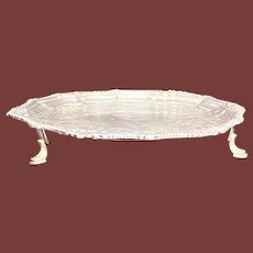 Sterling Silver Irish Charles Townsend Salver