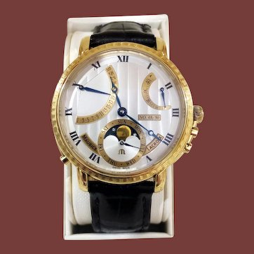 Maurice Lacroix Masterpiece Lune Retrograde Limited Edition only 30pcs