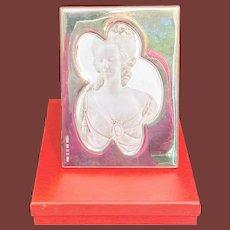 Agatha Ruiz de la Prada Sterling Silver Floral Picture Frame