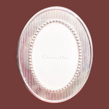 Dior Sterling Silver Picture Frame