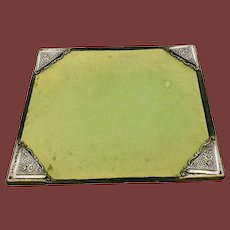 S Kirk & Son Sterling Silver Blotter Corners Set of 4