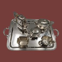Tiffany&Co 6-Piece Tea & Coffee Sterling Silver Service
