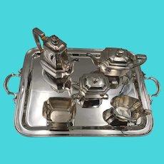 Tiffany&Co 6-Piece Tea & Coffee Sterling Silver Service