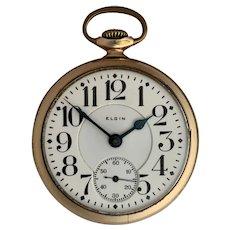 Elgin Father Time Railroad Grade Pocket Watch