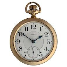 E Howard Watch Co Railroad Grade Pocket Watch