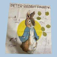 Peter Rabbit Party Game  Beatrix Potter