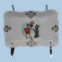 Buster Brown Pin Tray with Gold Detail