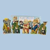 Jolly Jungleers Target Game Milton Bradley