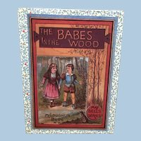 McLoughlin Bros Paper Litho Picture Blocks Babes in the Wood