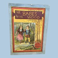 McLoughlin Bros Book The Babes in the Wood May Bells Series