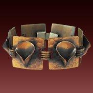 MORLEY CRIMI 1950s Copper Art Bracelet