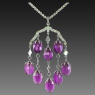 "SARAH COVENTRY ""Wisteria"" Dangles Necklace"