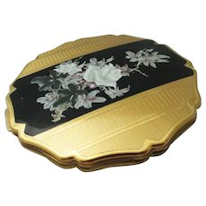 SALE: Stratton floral compact