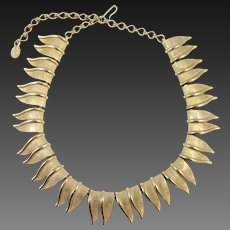 CHAREL double leaf necklace