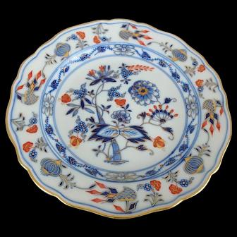 """Meissen Blue Onion Rich Plate, 8-3/8"""""""
