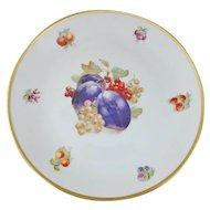 Schumann Arzberg Bavaria Fruit Motif Round Charger Serving Plate, 11.75""