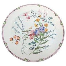 "Large Wedgwood Etruria Ranunculus Pattern 16-5/8"" Charger"