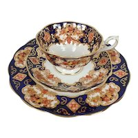 Royal Albert Heirloom English Bone China Plate, Cup & Saucer Trio