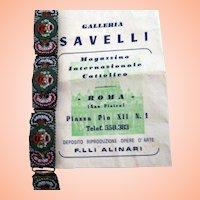 Mosaic Bracelet w Envelope in Italian