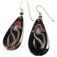 Laurel Burch Earrings - Wild Iris