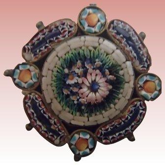 Antique Victorian Micromosaic
