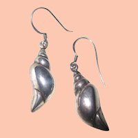 Art Deco Sterling Earrings w Added Dangles