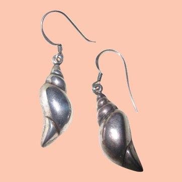 Art Deco Sterling Earrings w Added Dangles