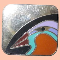 Laurel Burch Post Earrings Toucan