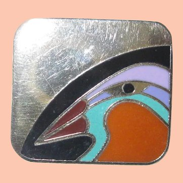 Laurel Burch Post Earrings Toucan