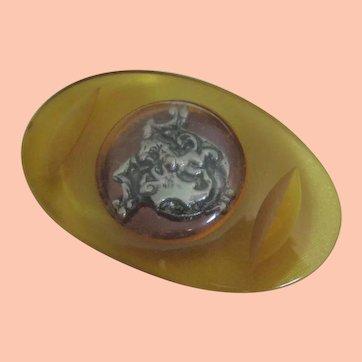 Biggest Bakelite Button Ever Seen