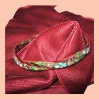 Asia Look Bangle Bracelet w enamel