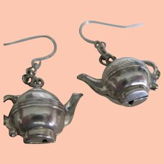 Cute Little Teapot Earrings