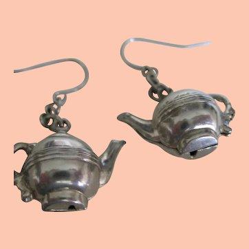 Cute Little Teapot Earrings