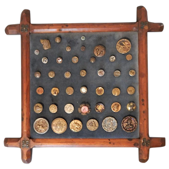 Collection of Antique Buttons