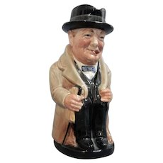 "Large Royal Doulton ""Winston Churchill"" Toby Jug"