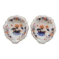 A Pair of Copeland and Garrett Late Spode Porcelain Dessert Bowls, circa 1840