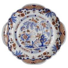 Ironstone Plate in Imari Colors by John Ridgway, circa 1835