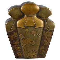 Fine Japanese Lacquer Kobako Incense Box - Meiji Period