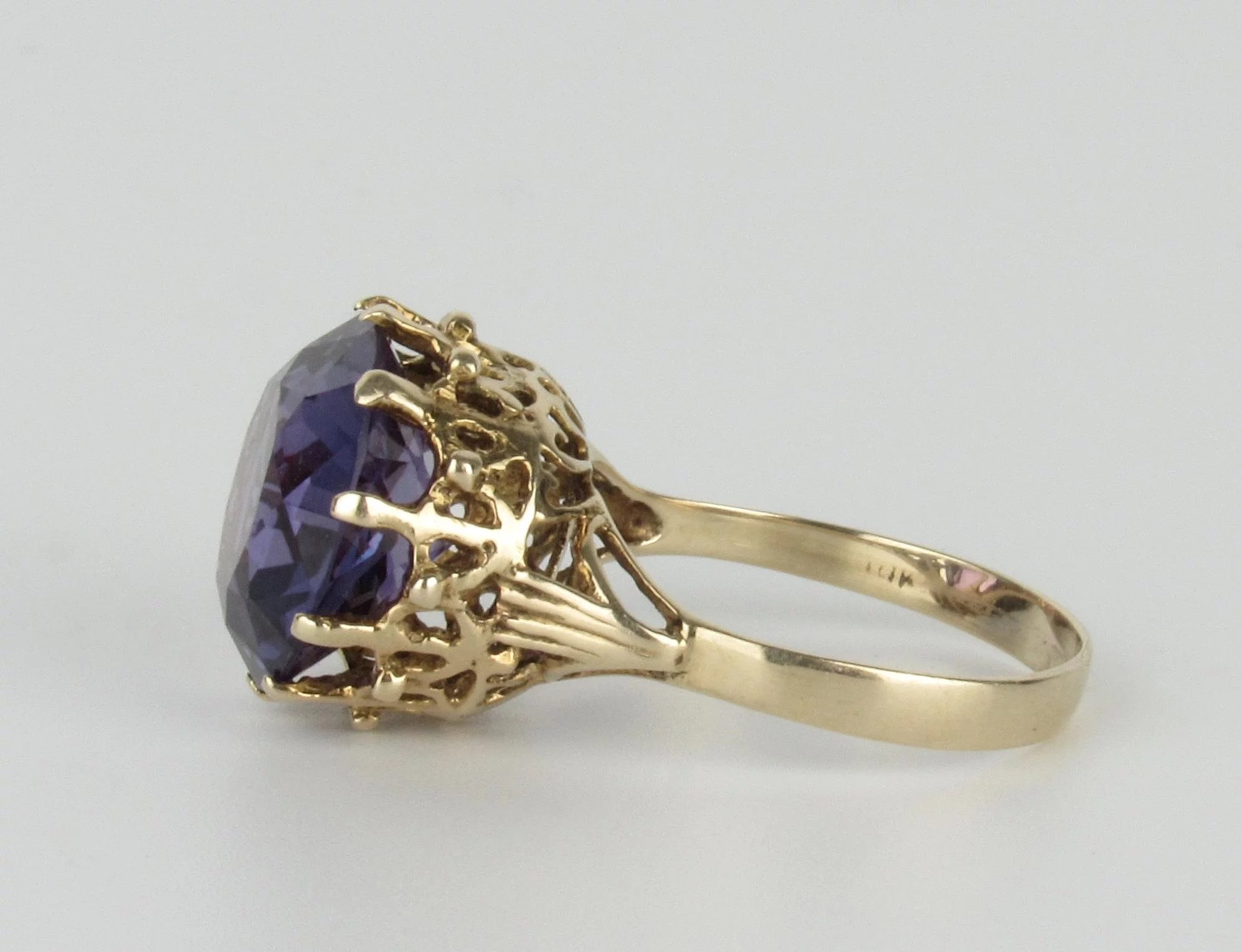 details bluelavendar sapphire rings ring or ori halo blue corundum lavendar engagement