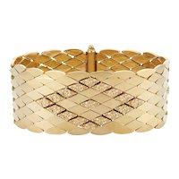 Vintage 18K Bracelet Signed Depositato, 55.6 g