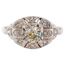 Antique Engagement Diamond Ring