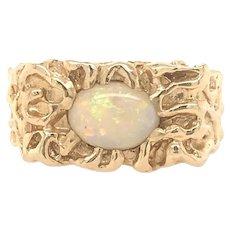 Opal Vintage 14k RIng