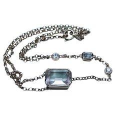 Morganite Diamond Bracelet 18K Rose Gold Estate