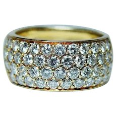 Kurt Wayne 2.4ct Diamond Ring 18K Gold Designer