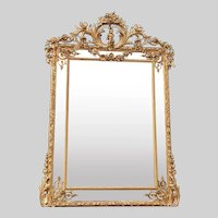 Antique Unique French  style wall mirror