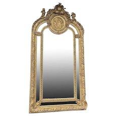 French Louis XVI Style Mirror - Free Worldwide Shipping